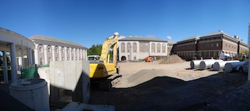 construction site - C.W. Courtney